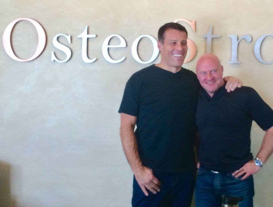Tony Robbins Partners with OsteoStrong!